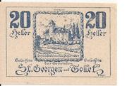 20 Heller (St. Georgen und Tollet) – reverse