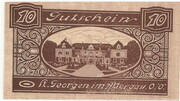 10 Heller (St. Georgen im Attergau) -  obverse