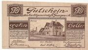 10 Heller (St. Georgen im Attergau) -  reverse