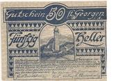 50 Heller (St. Georgen im Attergau) -  obverse