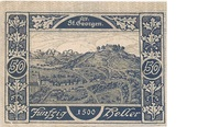 50 Heller (St. Georgen im Attergau) -  reverse