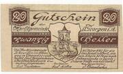 20 Heller (St. Georgen im Attergau) -  obverse