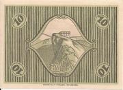 10 Heller (St. Gilgen) – reverse