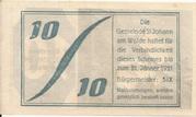 10 Heller (St. Johann am Walde) -  reverse