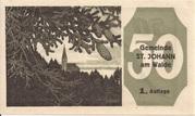 50 Heller (St. Johann am Walde) -  obverse
