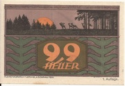 99 Heller (St. Johann am Walde) -  obverse