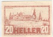 20 Heller (Sankt Johann am Wimberg) -  obverse