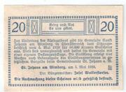 20 Heller (Sankt Johann am Wimberg) -  reverse