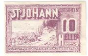 10 Heller (Sankt Johann am Wimberg) -  obverse