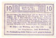 10 Heller (Sankt Johann am Wimberg) -  reverse
