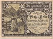 50 Heller (St. Johann im Pongau) – obverse