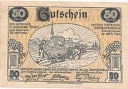 50 Heller (St. Leonhard am Forst und Ruprechtshofen) -  obverse