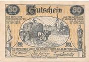 50 Heller (St. Leonhard am Forst und Ruprechtshofen) -  reverse
