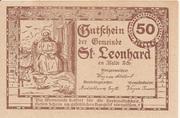 50 Heller (St. Leonhard am Walde) -  reverse