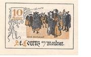 10 Heller (St. Lorenz am Mondsee) -  obverse
