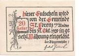 20 Heller (St. Lorenz am Mondsee) -  reverse