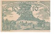 10 Heller (St. Magdalena bei Linz) – obverse