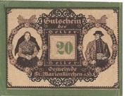 20 Heller (St. Marienkirchen am Hausruck) -  obverse