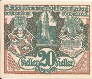 20 Heller (St. Marienkirchen bei Schärding) -  obverse