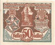 50 Heller (St. Marienkirchen bei Schärding) – obverse