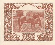 50 Heller (St. Marienkirchen bei Schärding) -  reverse