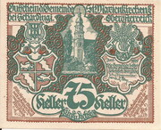 75 Heller (St. Marienkirchen bei Schärding) – obverse