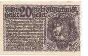 20 Heller (St. Martin im Mühlkreis) – reverse
