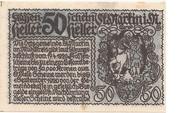 50 Heller (St. Martin im Mühlkreis) – reverse