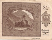 20 Heller (St. Nikola an der Donau) -  obverse