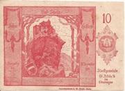 10 Heller (St. Nikola an der Donau) -  obverse