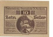 10 Heller (St. Pankraz) -  obverse