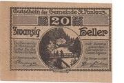 20 Heller (St. Pankraz) -  obverse
