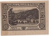 20 Heller (St. Pankraz) -  reverse