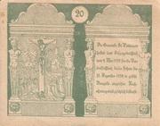 20 Heller (St. Pantaleon) -  obverse