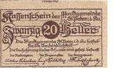 20 Heller (St. Peter in der Au) -  obverse
