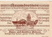 50 Heller (St. Pölten; Firma Franz Pittner) -  reverse