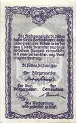 20 Heller (St. Pölten) – reverse