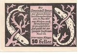 50 Heller (St. Roman) -  obverse