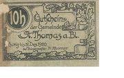 10 Heller (St. Thomas am Blasenstein) -  reverse