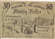 50 Heller (St. Veit an der Gölsen) -  obverse