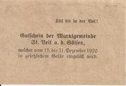 50 Heller (St. Veit an der Gölsen) -  reverse