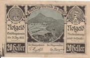 20 Heller (St. Veit an der Gölsen) -  obverse