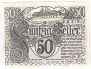 50 Heller (Sankt Veit im Pongau) -  obverse