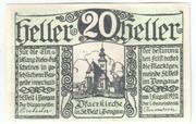 20 Heller (Sankt Veit im Pongau) -  obverse