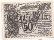 50 Heller (St. Veit im Pongau) – obverse