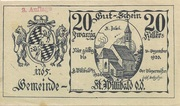 20 Heller (St. Willibald) -  obverse
