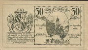 50 Heller (St. Willibald) -  obverse