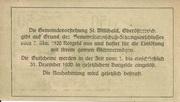 50 Heller (St. Willibald) -  reverse