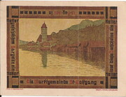 10 Heller (St. Wolfgang) -  obverse