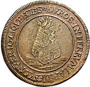 1 Gulden - Romanus – reverse